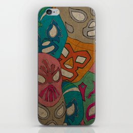 love lucha iPhone Skin