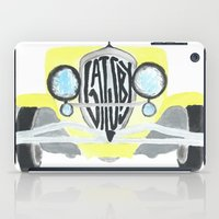gatsby iPad Cases featuring Gatsby by S. L. Fina