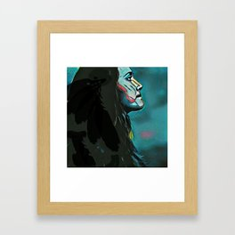 Branwen's Loss Framed Art Print