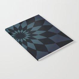 Wonderland Floor in Muted Rain Colors Notebook