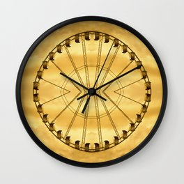 Carnival Cryptography Wall Clock