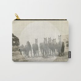 Band of Horses - White Carry-All Pouch