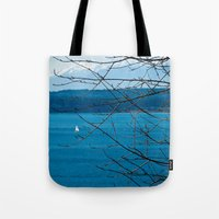 frame Tote Bags featuring Frame by Kiersten Marie Photography