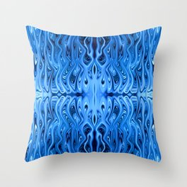 Frozen Squid by Chris Sparks Throw Pillow