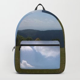 Meadow and mountains Backpack