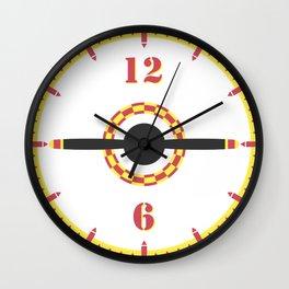 Plane Prop Wall Clock