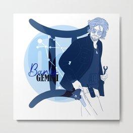 Banks - Gemini Star Sign Metal Print