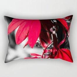 Cardinal Flower Rectangular Pillow