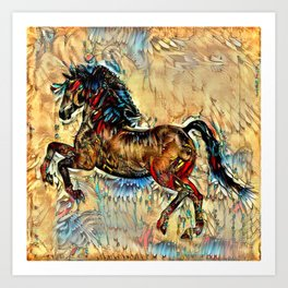 Painted Pony Art Print