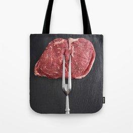 Rib eye steak Tote Bag
