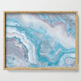 Ocean Foam Mermaid Marble Serving Tray