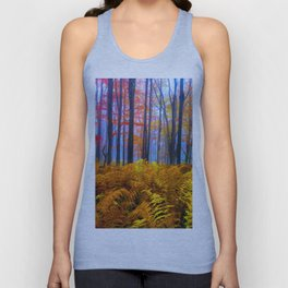 Forest Bushes Unisex Tank Top