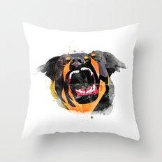 perro Throw Pillow