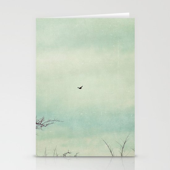 fly with me Stationery Cards
