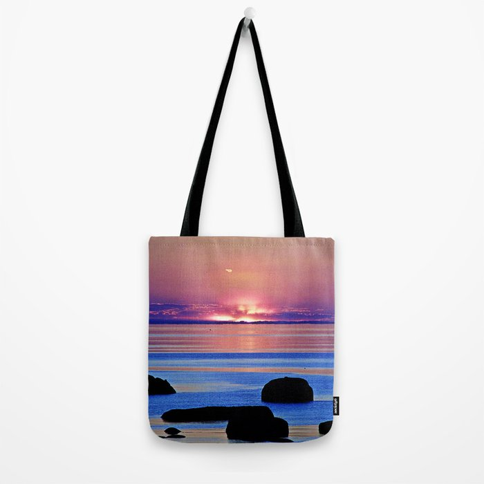 Colorful Dusk Tote Bag