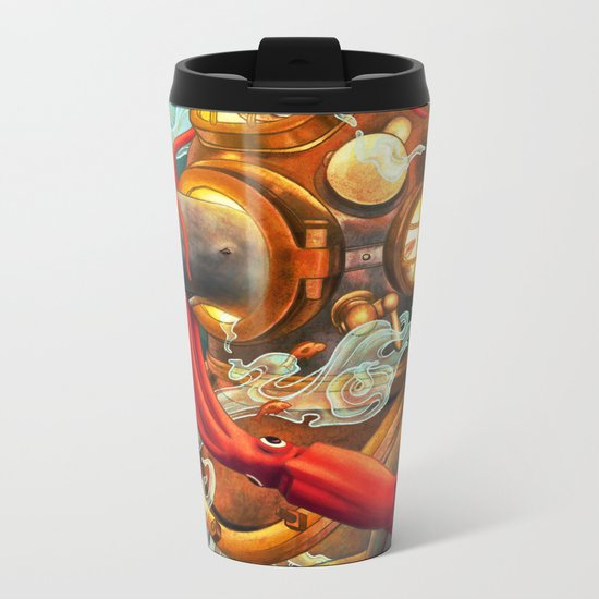 Deep Sea Diver Metal Travel Mug