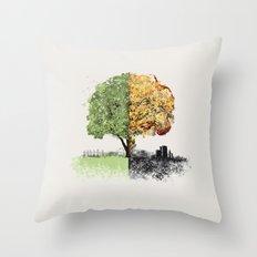 War and Peace Throw Pillow