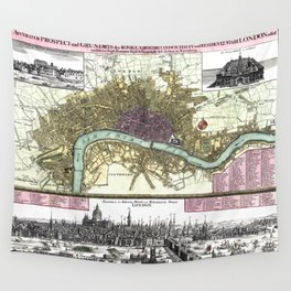 London-England-1740 Wall Tapestry