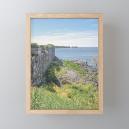 Sea fortress Helsinki | Finland travel photography | Bright and pastel colored photo print |  Framed Mini Art Print