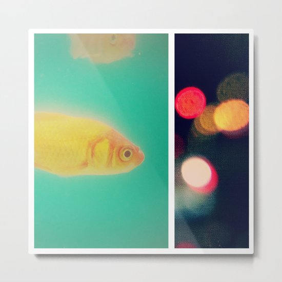 the fish bowl diaries Metal Print