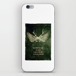 Dream within a Dream iPhone Skin