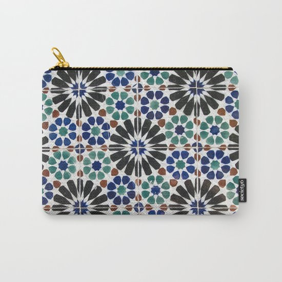 Azulejos Lisbon Portugal 4 Carry-All Pouch