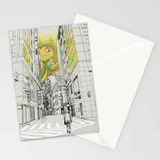 quiet baby steps Stationery Cards