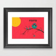 pío pío, PÍO PÍO Framed Art Print