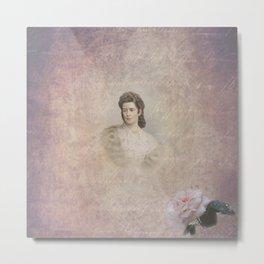 Empress Elisabeth of Austria Metal Print