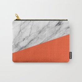 Marble and flame color Carry-All Pouch