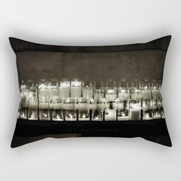 It seems to me, you live your life, like a candle in the wind. Rectangular Pillow