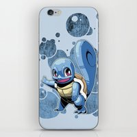 squirtle iPhone & iPod Skins featuring Squirtle by Yamilett Pimentel