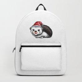 Hedgie Christmas Holiday Season Gift Backpack