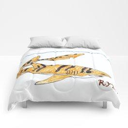 Tiger Cat Shark Comforters