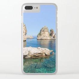 Tonnara Scopello Clear iPhone Case