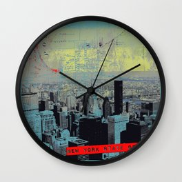 NYState of Mind Rockville Center Wall Clock