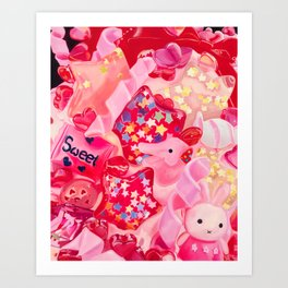 Pink, Plastic & Proud Art Print