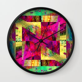 Meandros Wall Clock