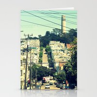 san francisco Stationery Cards featuring San Francisco by Mr and Mrs Quirynen