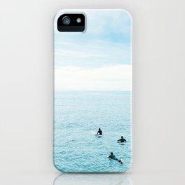 Flat Ocean iPhone Case