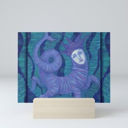 Melusine, Water Spirit, Underwater Fantasy, Pop surrealim, Mini Art Print