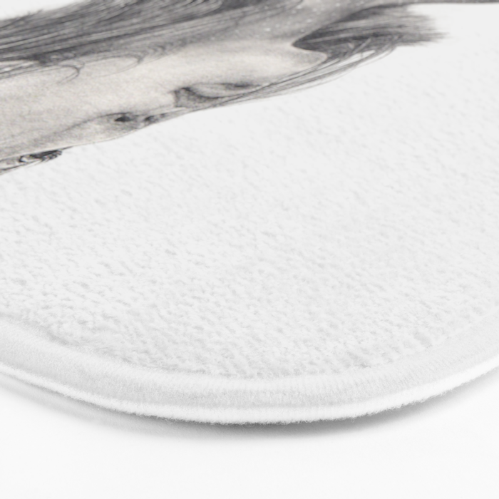 I See The Universe Inside Of You Bath Mat