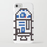 r2d2 iPhone & iPod Cases featuring r2d2 by Walter Melon