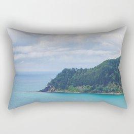 View From Paku Summit Rectangular Pillow