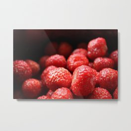 Sweet strawberries Metal Print
