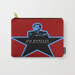 Jed Bartlet - An American President  Carry-All Pouch