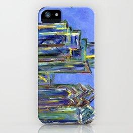 Blue Philadelphia Skyline iPhone Case