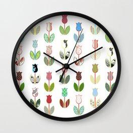 Tulips / 01 Wall Clock