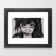 Captive Framed Art Print