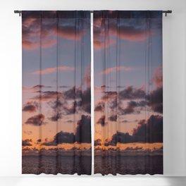 Hawaiian Sunset Blackout Curtain